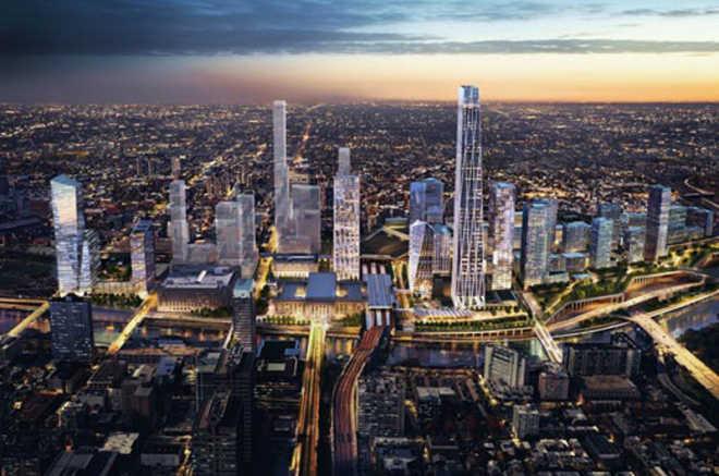 SOM проектирует новый район, который
