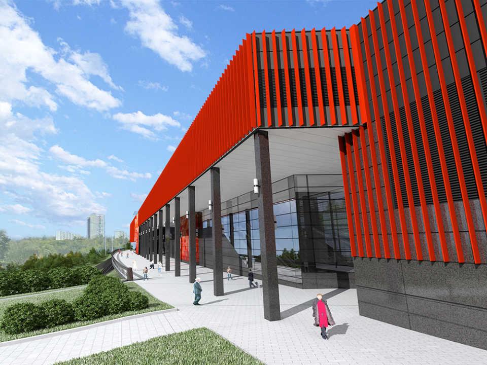 Станция «Мичуринский проспект» будет иметь два вестибюля