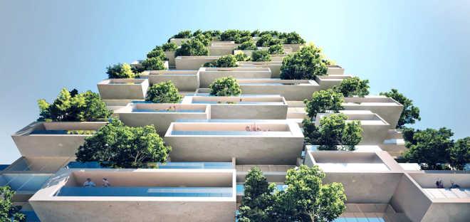 Стефано Боэри построит «вертикальный лес» в живописном месте Китая