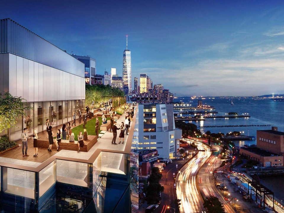 Studio Gang опубликовала новые проектные изображения высотки Solar Carve Tower, строительство которой скоро начнется в Нью-Йорке