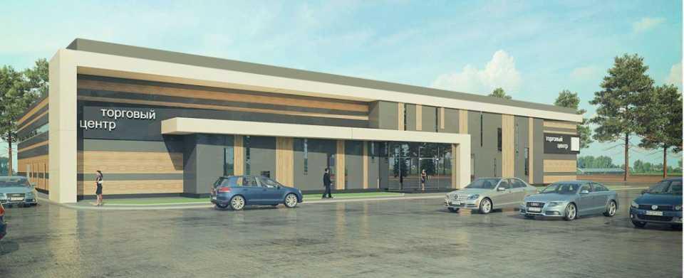 Торговый центр с сезонными навесами появится в Зеленограде