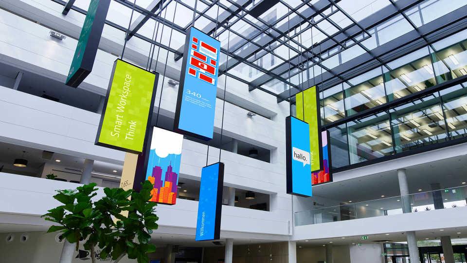 Turner & Townsend построили «офис будущего» для представительства Microsoft в Германии
