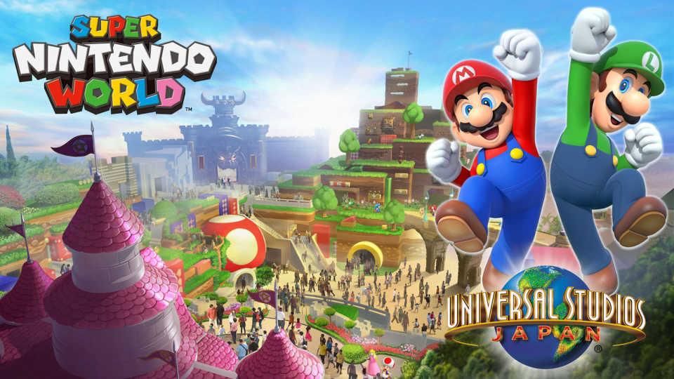 Universal планирует открыть три тематических парка Super Nintendo World