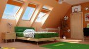 Детская-комната-на-мансарде