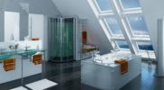 Ванная-комната-на-мансарде