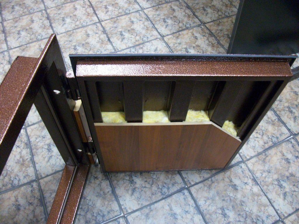 Дверь металлическая входная своими руками фото