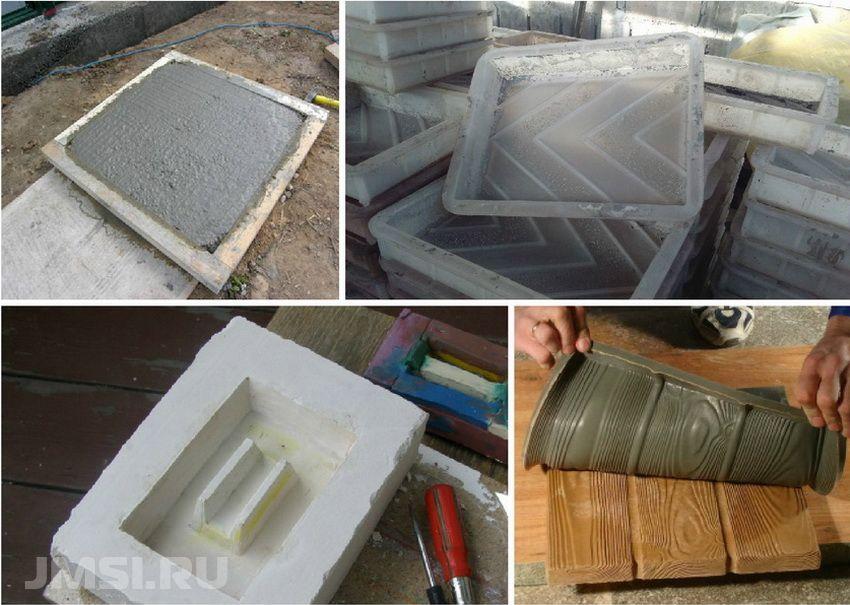 Изготовление своими руками форм для изготовления тротуарной плитки