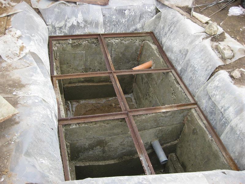 Как сделать правильно крышку для ямы