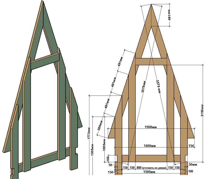 Как построить туалет на даче своими руками фото чертежи 76
