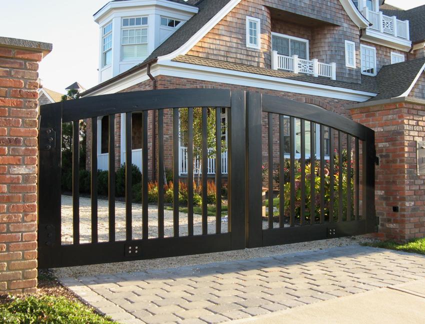 Ворота и заборы дизайн
