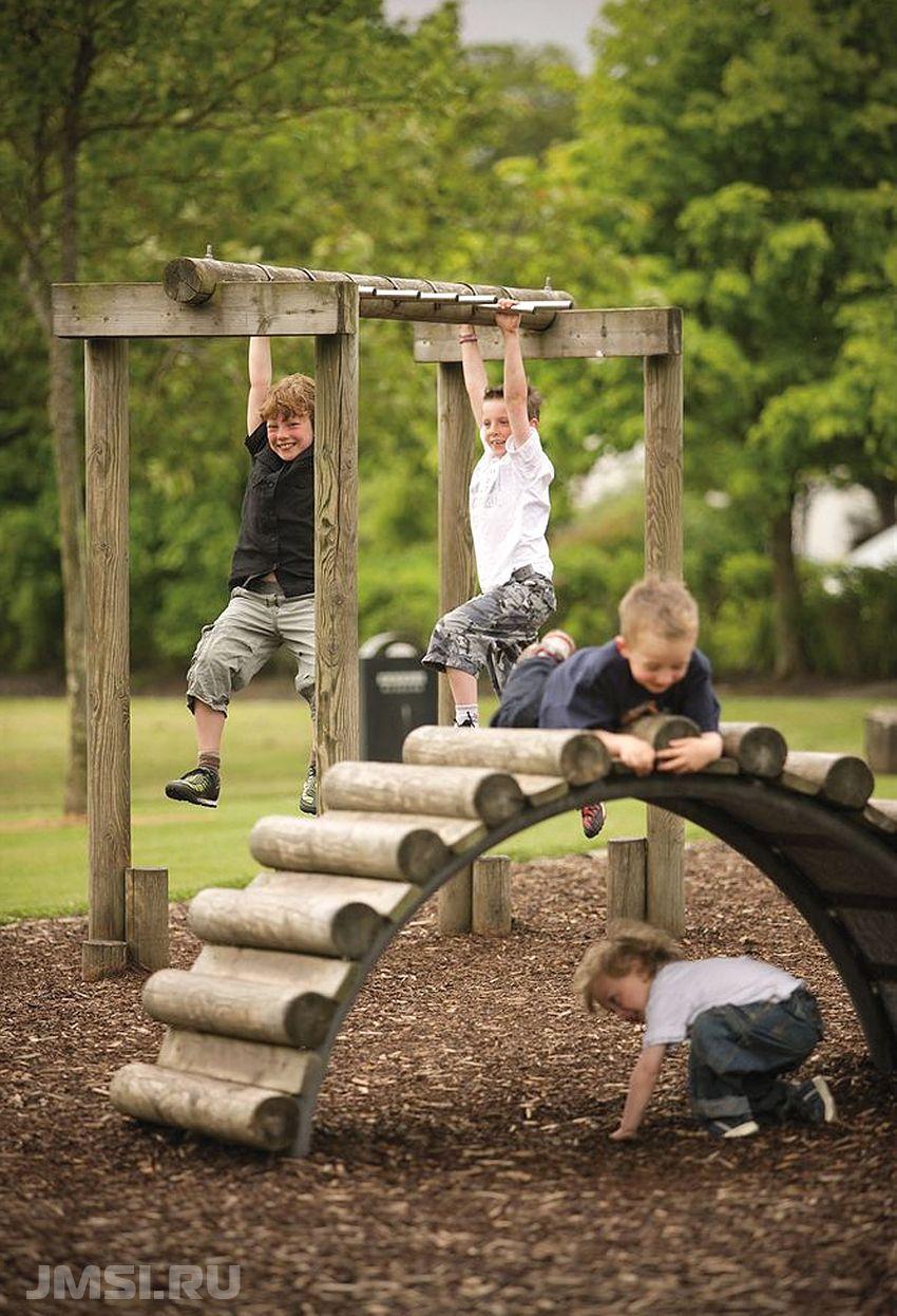Делаем детскую площадку на даче своими руками: советы 34