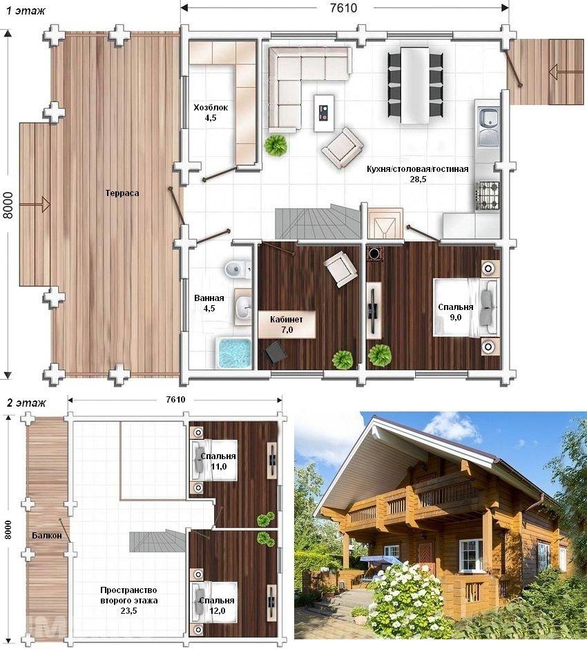Как построить дом для постоянного проживания своими руками