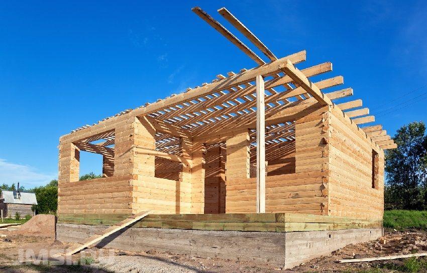 Деревянные дома из бруса: фото, преимущества и недостатки деревянного бруса