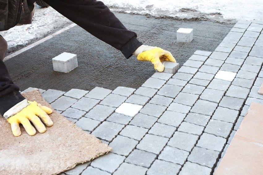 Керамогранит укладка на бетон