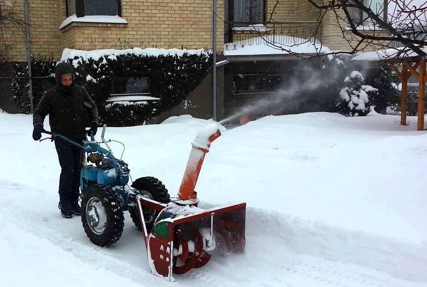 Снегоуборщик из стиральной машины своими руками 60
