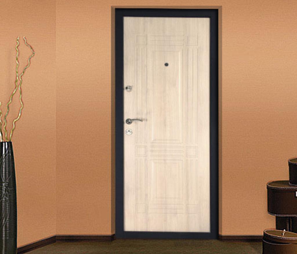 беленый дуб изнутри входная дверь