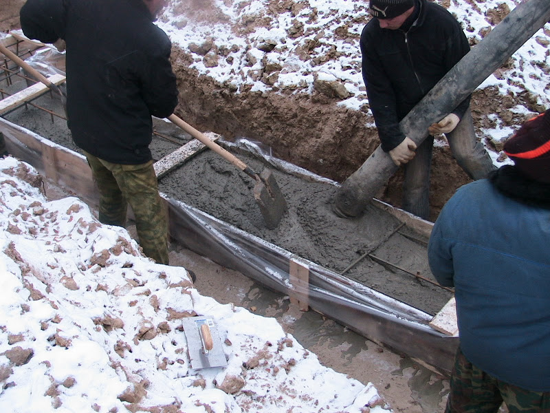 Работа с бетоном бетон новофедоровка