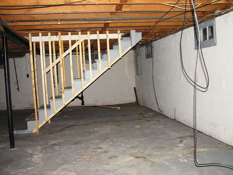 Как в подвале сделать помещение для