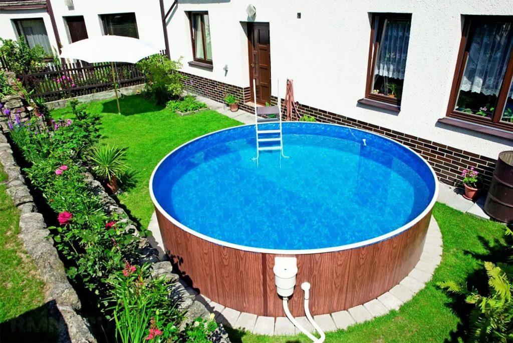 Дизайн отделки бассейна