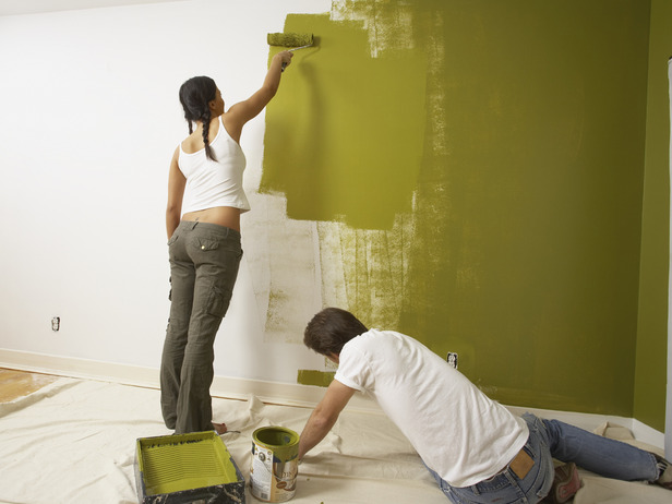 Как правильно красить стены