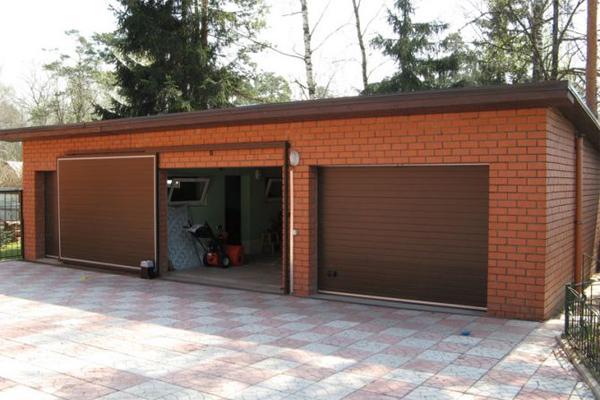 Каркас гаража сборный