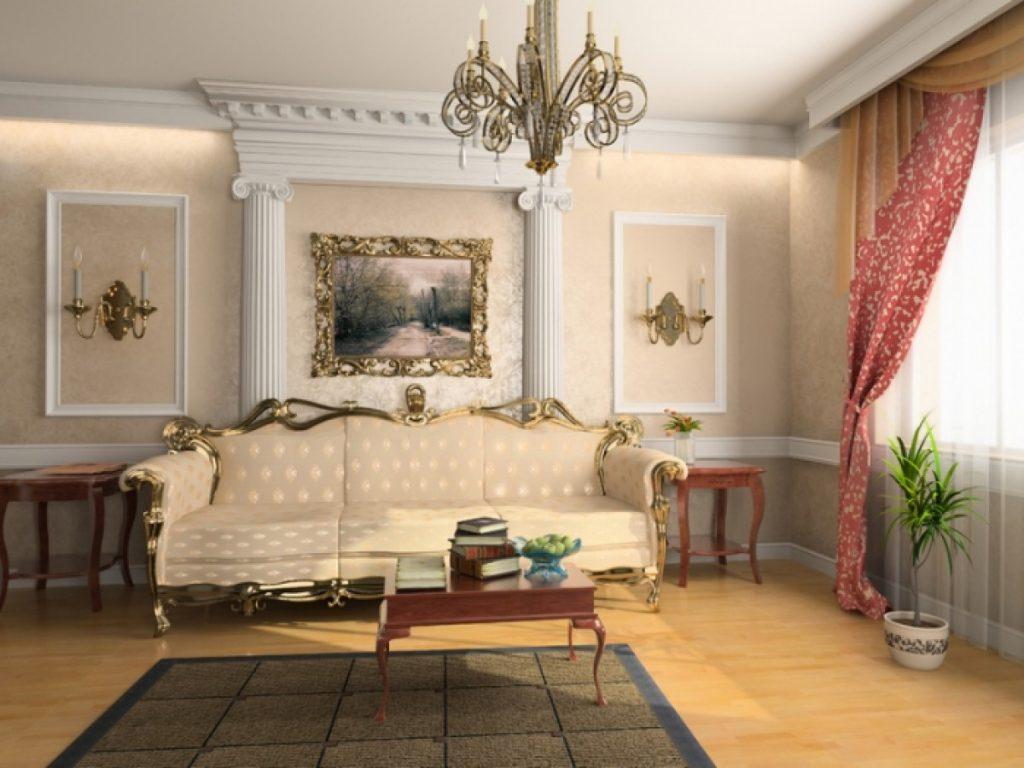 Мебель в интерьере – классический стиль