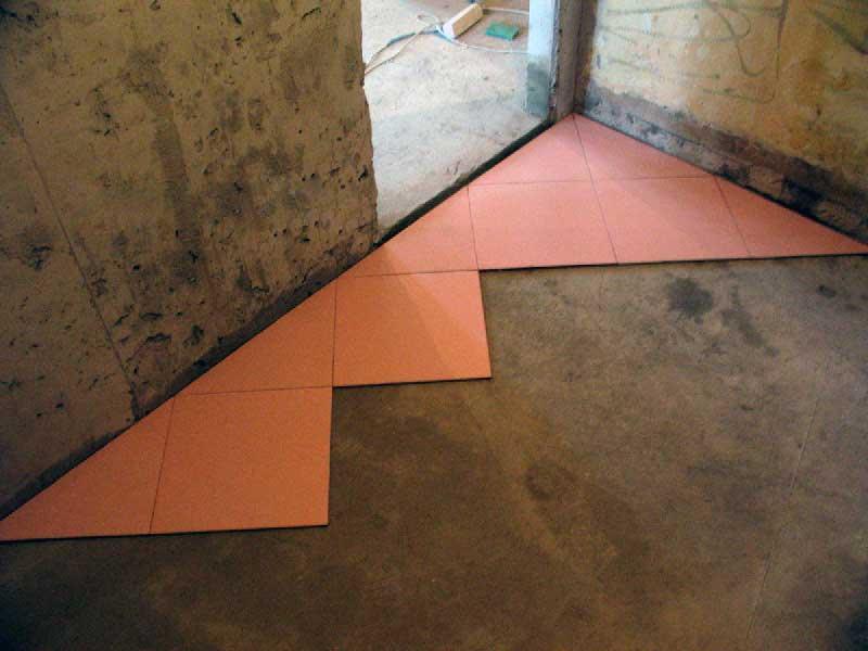 Удобство кладки керамической плитки