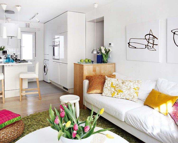 Создаем интерьер небольшой квартиры-студии