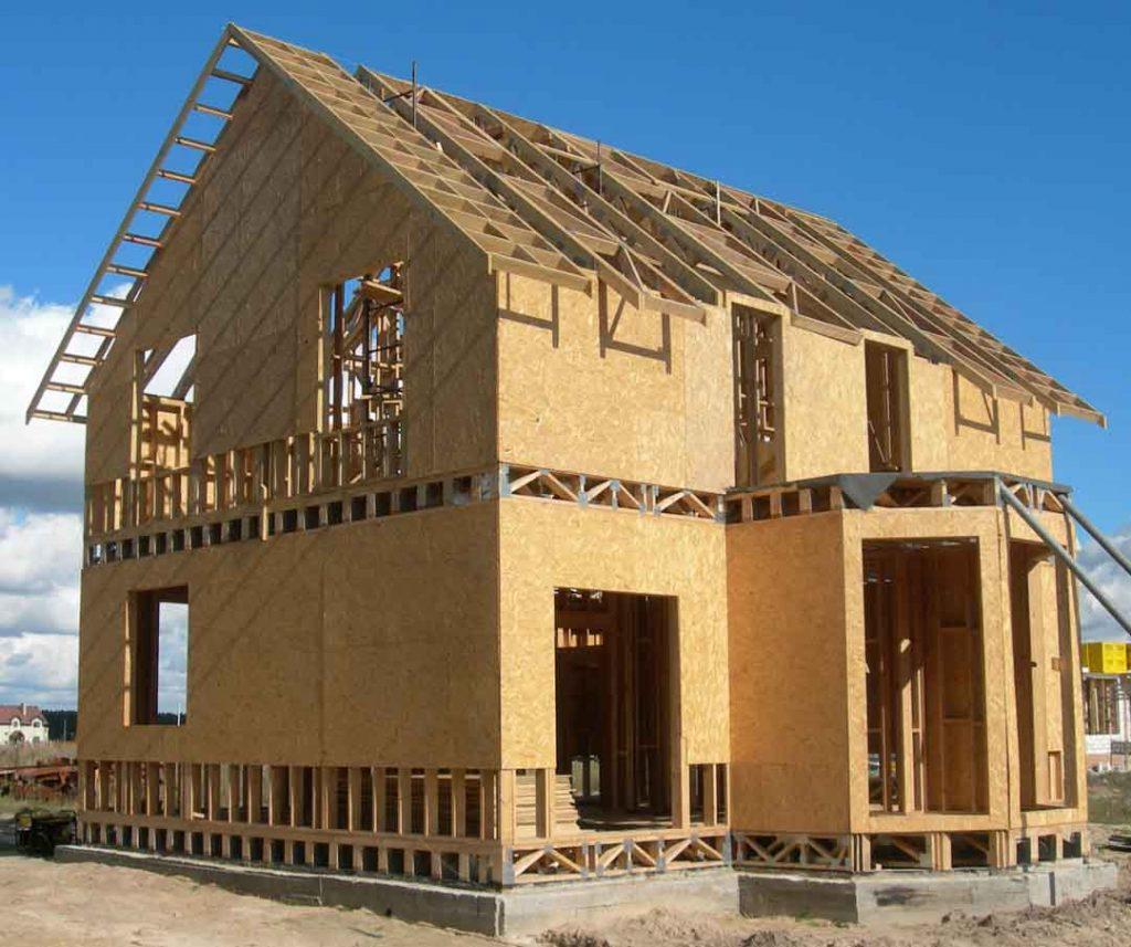 Характеристики щитового дома