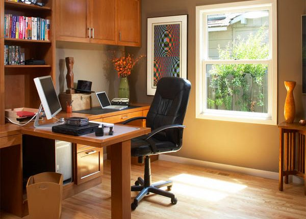 Как оборудовать рабочий кабинет дома?