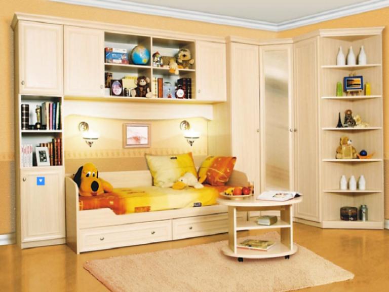 Мебель – создаем уют в детской комнате