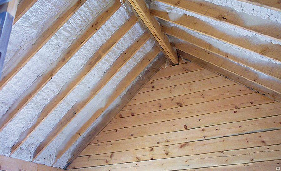 Особенности утепления крыши пенополиуретаном