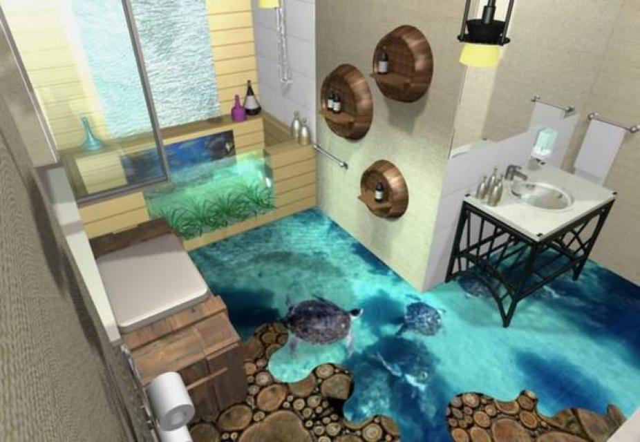 Оригинальные ванные комнаты