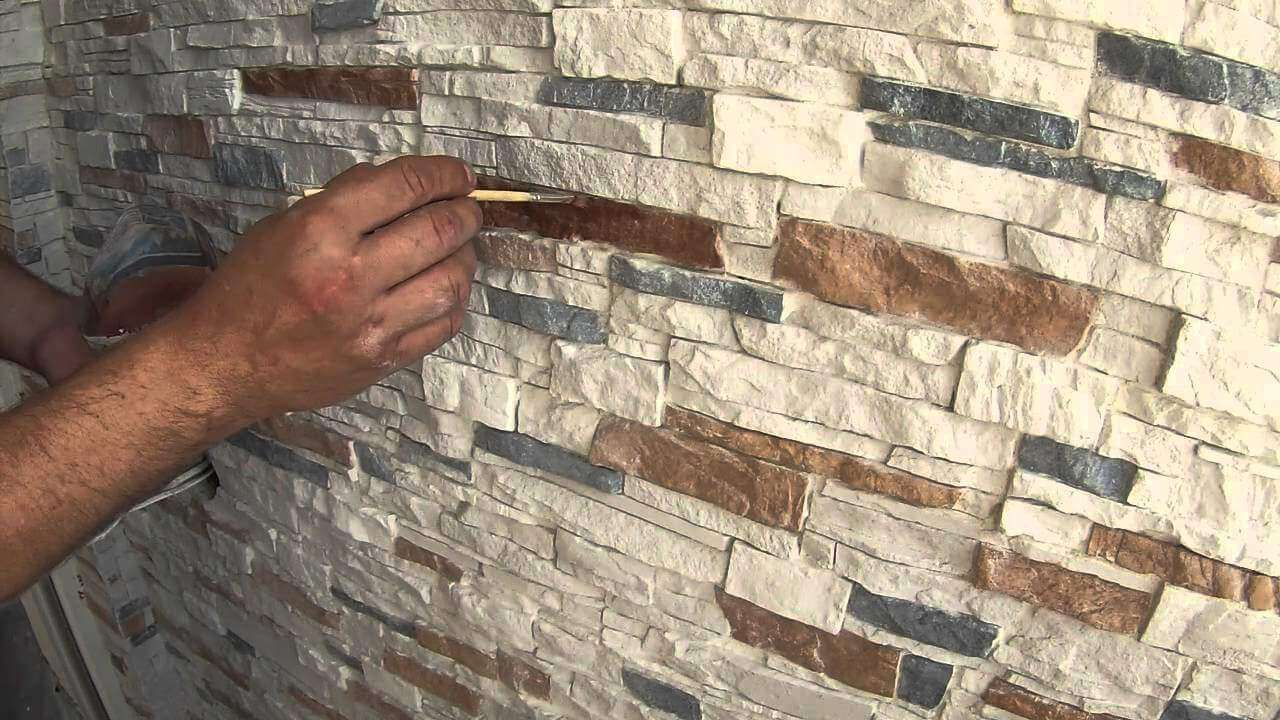 Монтаж декоративного камня своими руками 15