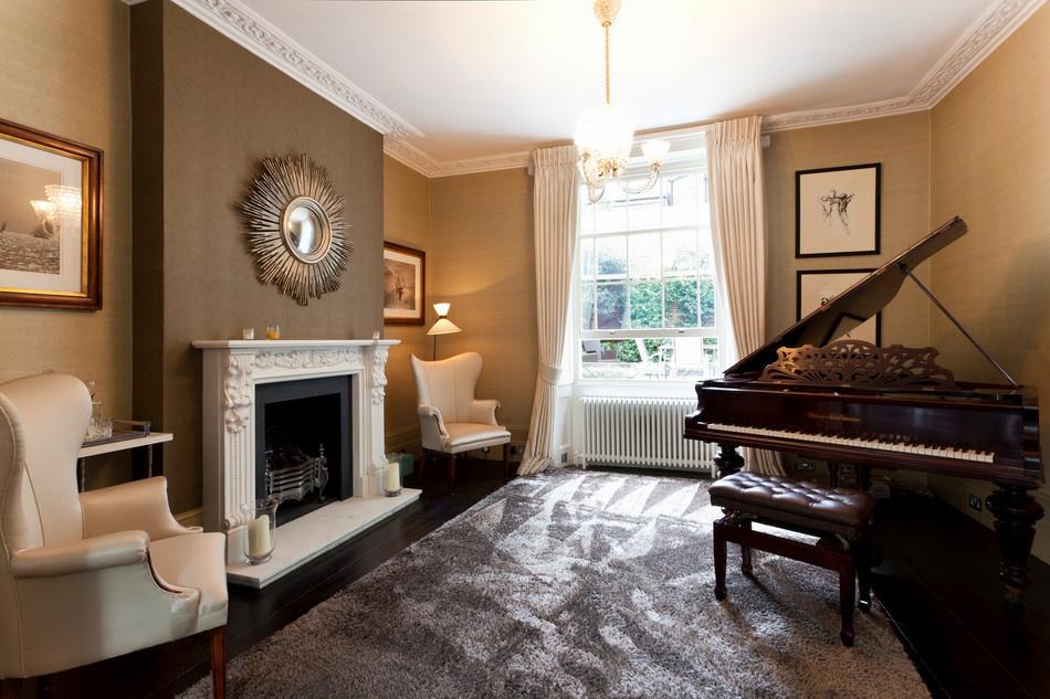 Выбор рояля для дизайна интерьера