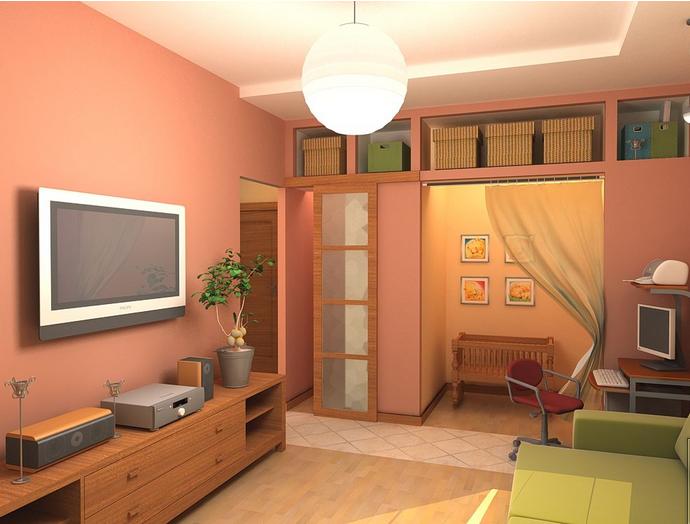 Обустройство общей комнаты