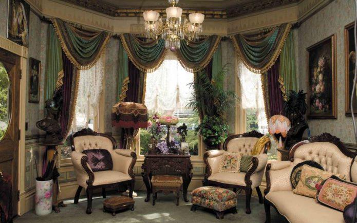 Викторианский интерьер в интерьере