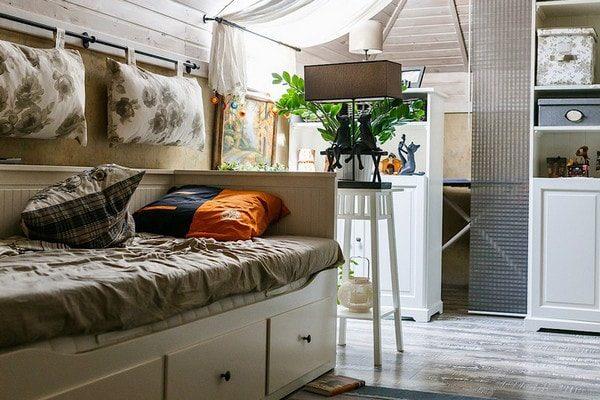 Подвесные подушки в дизайне интерьера