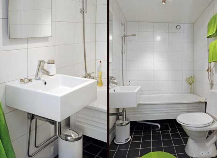 Сантехника в ванную комнату и обустройство общей комнаты