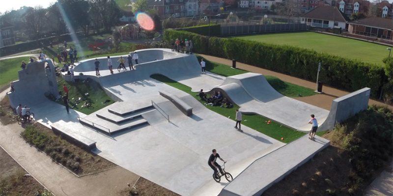 Фигуры и элементы для скейт-парков
