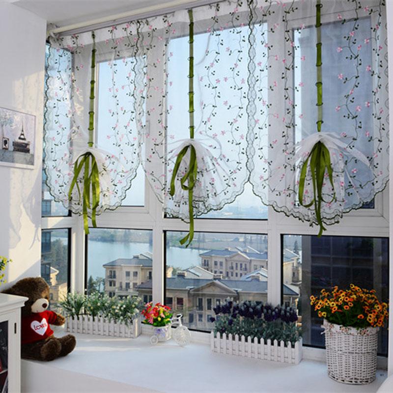 Идеальный кухонный занавес для вашего дома