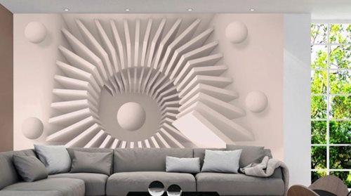 3D oboi dlya zala v kvartire 53 foto varianti rasshiryayushie prostranstvo v interere gostinoj
