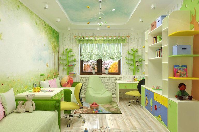 Как сэкономить пространство в детской комнате?